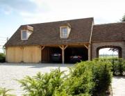Garage met Franse tegelpannen